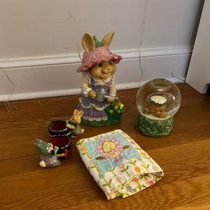 Easter bunny decorations bundle